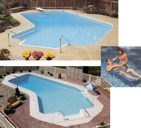 Carroll County Pools Inground Swimming Pool Maryland Pools In Ground Vinyl Lined Pools