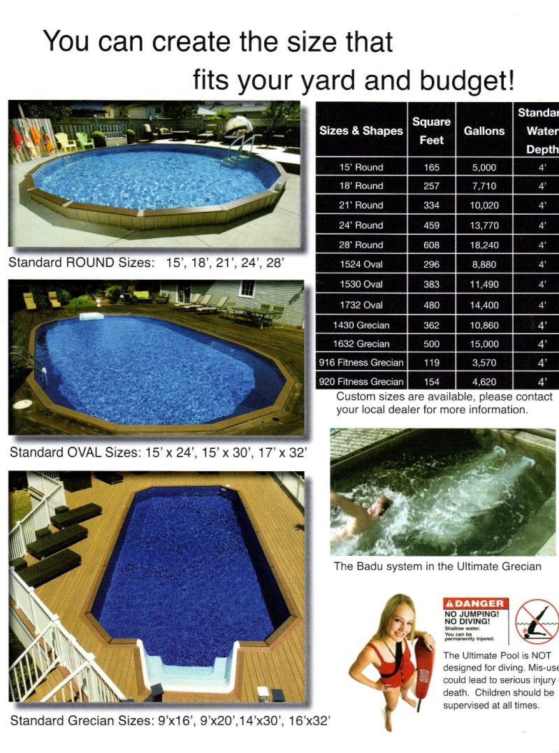 Above ground pools carroll county maryland oval round - Public swimming pools frederick md ...